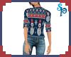 [S] Snowman Sweater