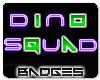 Dino Squad Badge Set