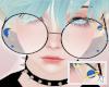 AT Blue Galaxy Glasses