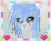 Blue Mist Furry Hair 1