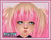 ! KID Pink N Blonde Hair