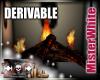 MRW|Log Fire Insert