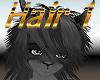 Grey Furry Hair 1