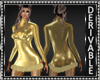GoldFur Mini Dress Mesh2