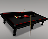 Anim BlackRed Pool Table