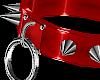 Devil Spike Ring Collar