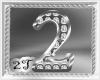 ~2T~2 Num Diamond Silver