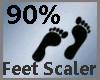 Feet Scaler 90% M