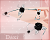 ❖ Rose Silver Elf Ears