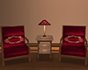 ~N~ Hotel Chat Chairs
