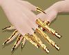 Gold Brass Finger Gloves