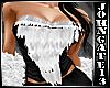Winter Fur Top -Black-