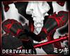 ! Crimson Vampire Gloves