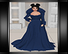 Winter Gown Navy Blue