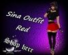 Sina Outfit Red