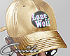 LoneWolf Gold Cap