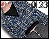 *0123* Blue Tweed Jacket