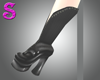 Black Goth Shoe