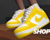 Yellow Dunks