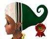 xmas elf hat n hair