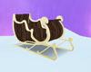 wooden sleigh