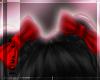red hair bows