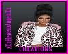 Cheetah Pink Fur Coat