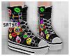 Black Nikky Sneakers