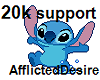 20k support!