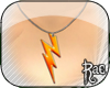 R| Lightn. Bolt Necklace