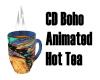 CD Boho Animated Hot Tea
