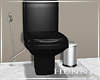 H. Apt Black Toilet