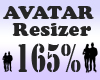 Avatar Resizer 165%