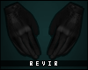 R║Leather Gloves