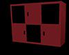 Retro Red Cabinet