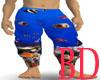 Coral Reef Karate Pants