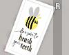 Bee Bathroom Frame