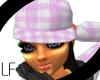 [LF] Pink Plaid Hat