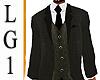 LG1 Gray Suit Top