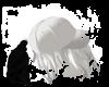 white caps behind