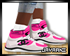 CoCo Hi-Top Pink (Socks)