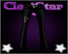 Cross Flares Black