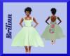 [B] Mint Bow Dress