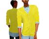 Yellow Baggy Sweater