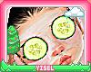 Y, Cucumber Eye Mask KID