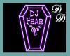 DJ Fear Floor Sign