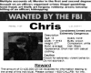 [D] Wanted Poster Chris