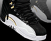 Black White & Gold 12s F