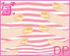 [DP] Short orange nails