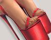 I│Platform Heels Red